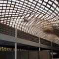 Eine Rampe der Multihalle im Mannheimer Herzogenriedpark