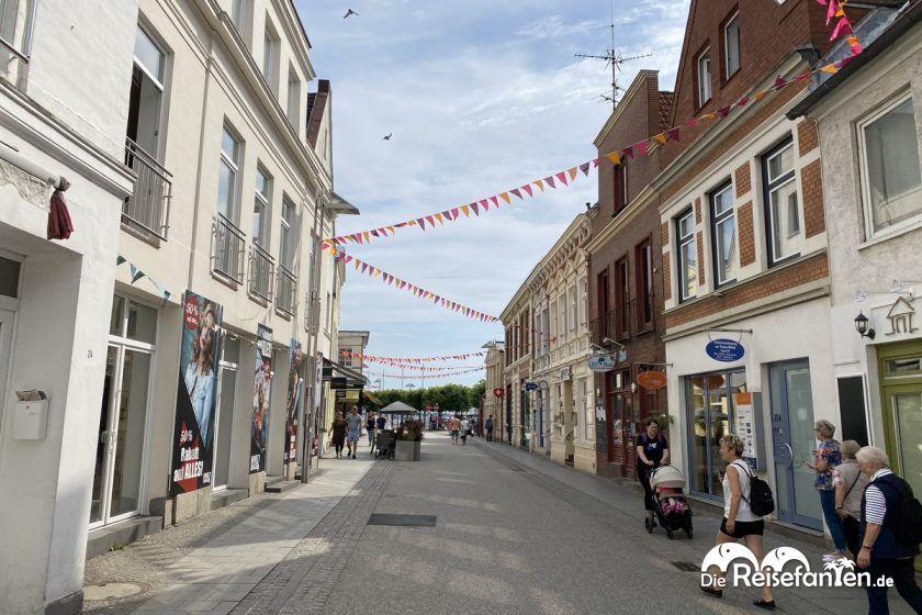 Fußgängerzone von Travemünde