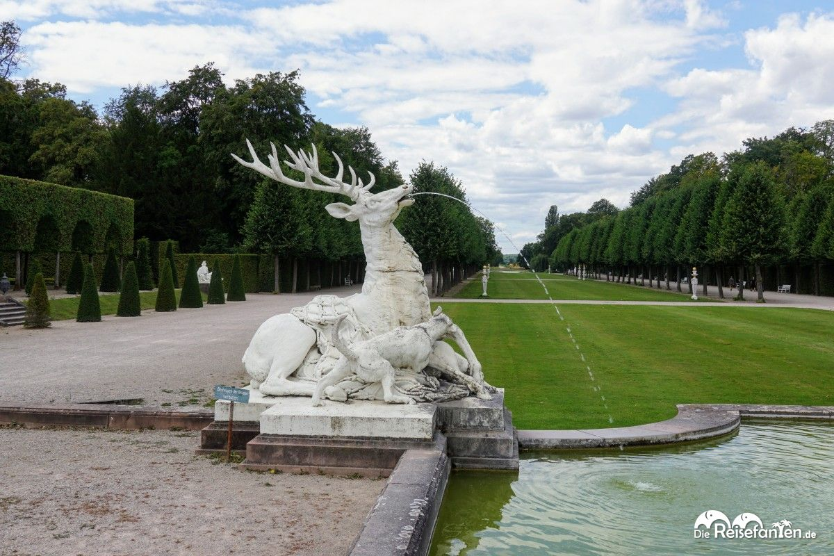 Hirschbrunnen im Schwetzinger Schlosspark