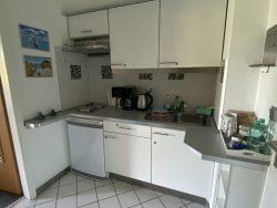 Küchenzeile der Pematra Ferienwohnung in Travemünde