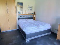 Schlafbereich der Pematra Ferienwohnung in Travemünde