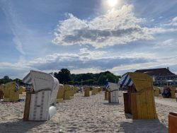 Strandkörbe in Travemünde