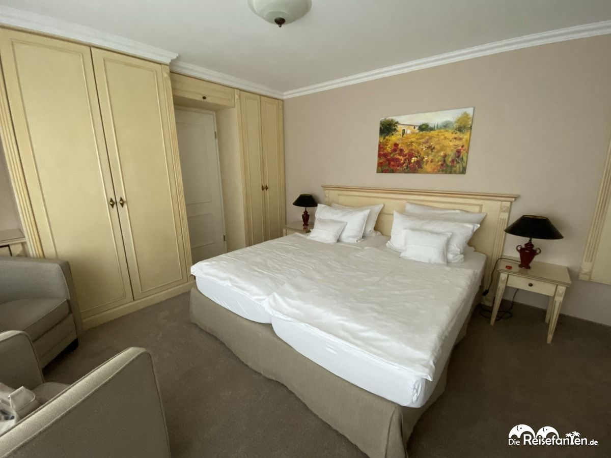 Zimmernasicht im Strandhotel Fontana in Timmendorfer Strand
