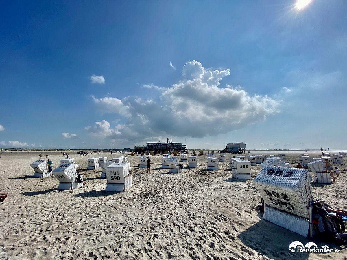 Der Strand von Sankt Peter Ording