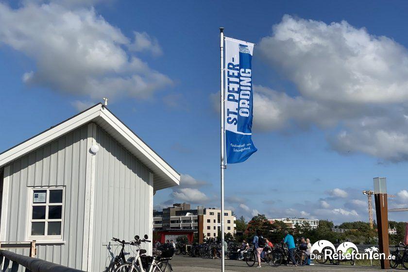 Fahne von Sankt Peter Ording