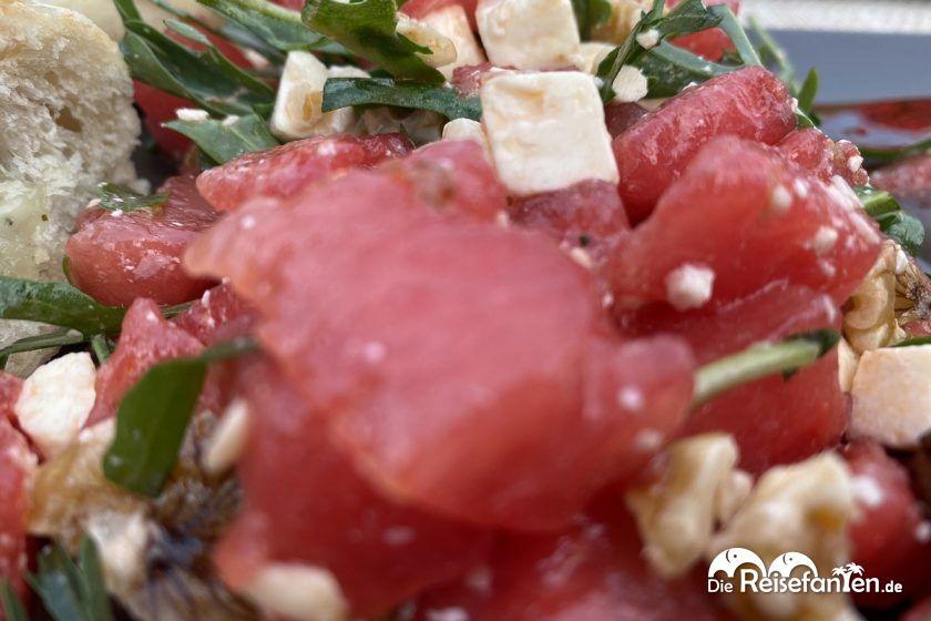 Frischer Melonensalat
