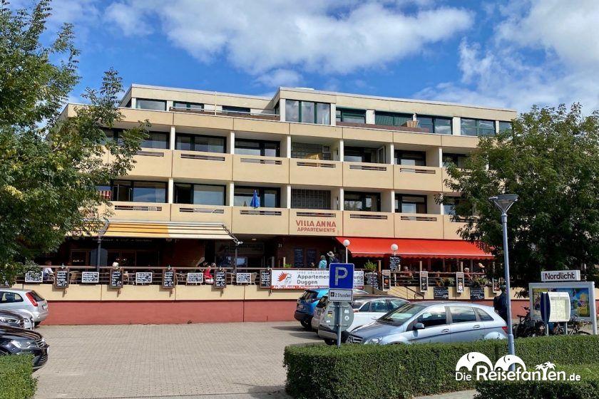 Aussenansicht Appartementanlage Villa Anna in Sankt Peter Ording