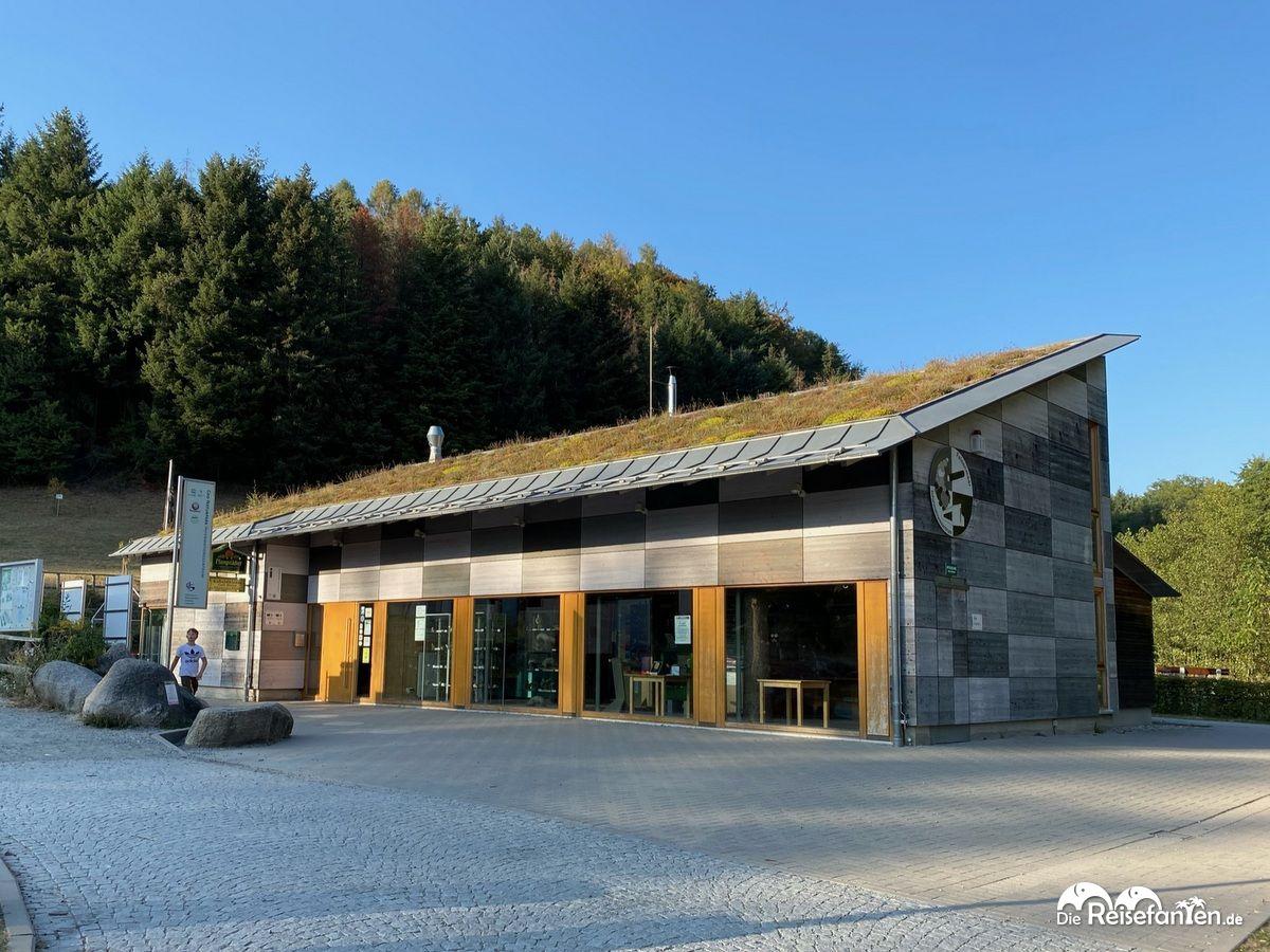 Besucherzentrum am Felsenmeer im Odenwald Kopie