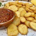 Leckerer Snack im Schlappen in Freiburg