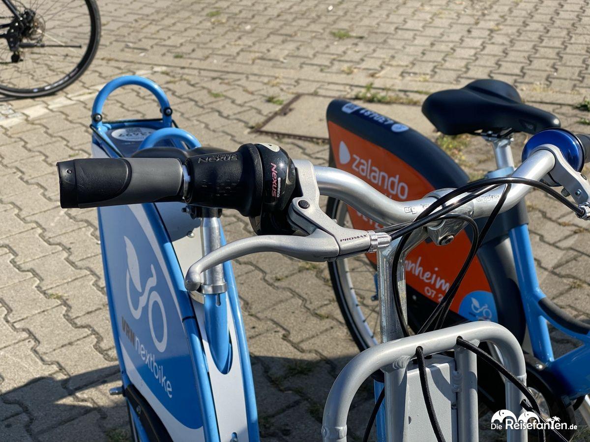 Nextbike in Mannheim