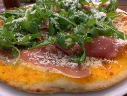 Pizza Parma im Restaurant Kugelofen in Weinheim