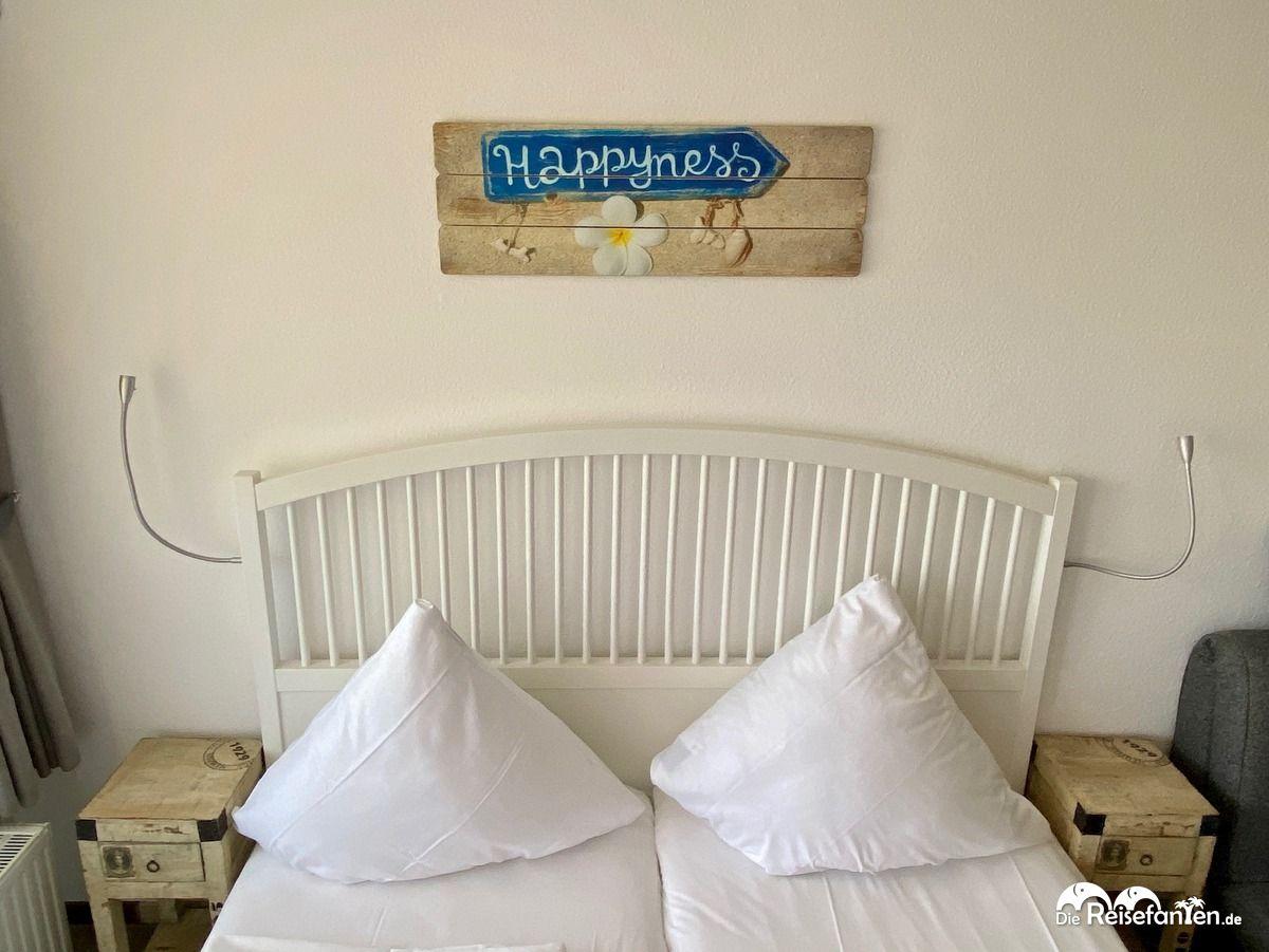 Schlafbereich in der Villa Anna in Sankt Peter Ording