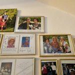 Autogrammkarten im Hotel zur Post in Rohrdorf 4