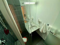 Badezimmer im Roten Haus in Überlingen