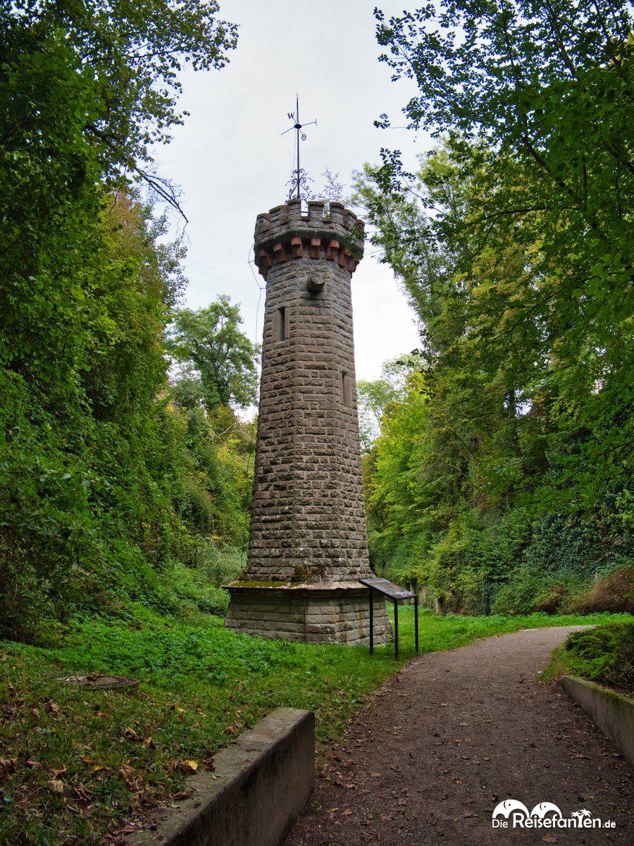 Der Märchenturm im Wagsauter Graben in Überlingen