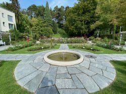 Der Rosengarten in Überlingen