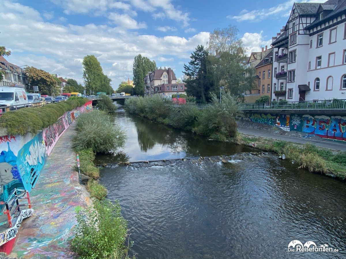 Die Dreisam in Freiburg