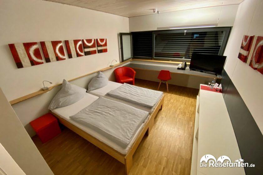 Doppelzimmer im Roten Haus in Überlingen