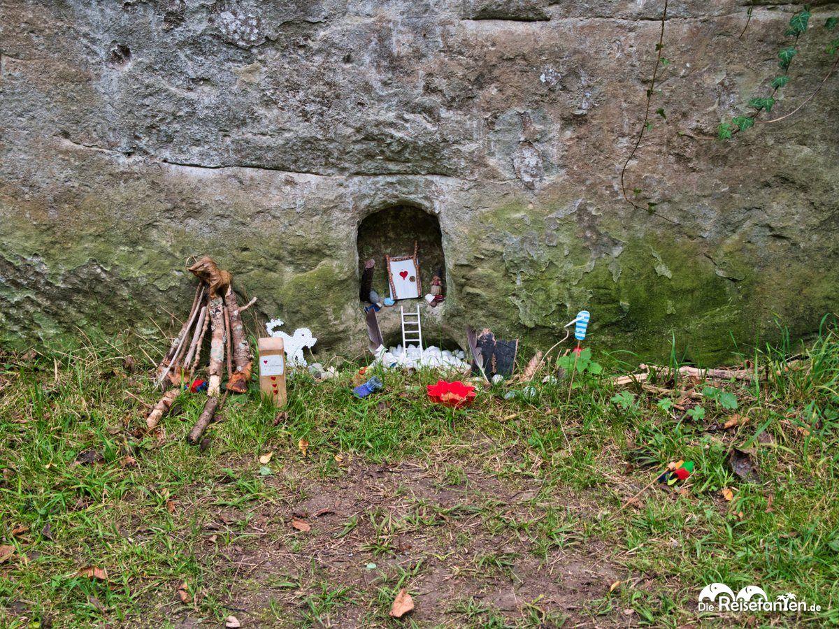 Eine weitere Installation im Wagsauter Graben in Überlingen