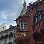Gepflegte alte Häuser findet man in Freiburg