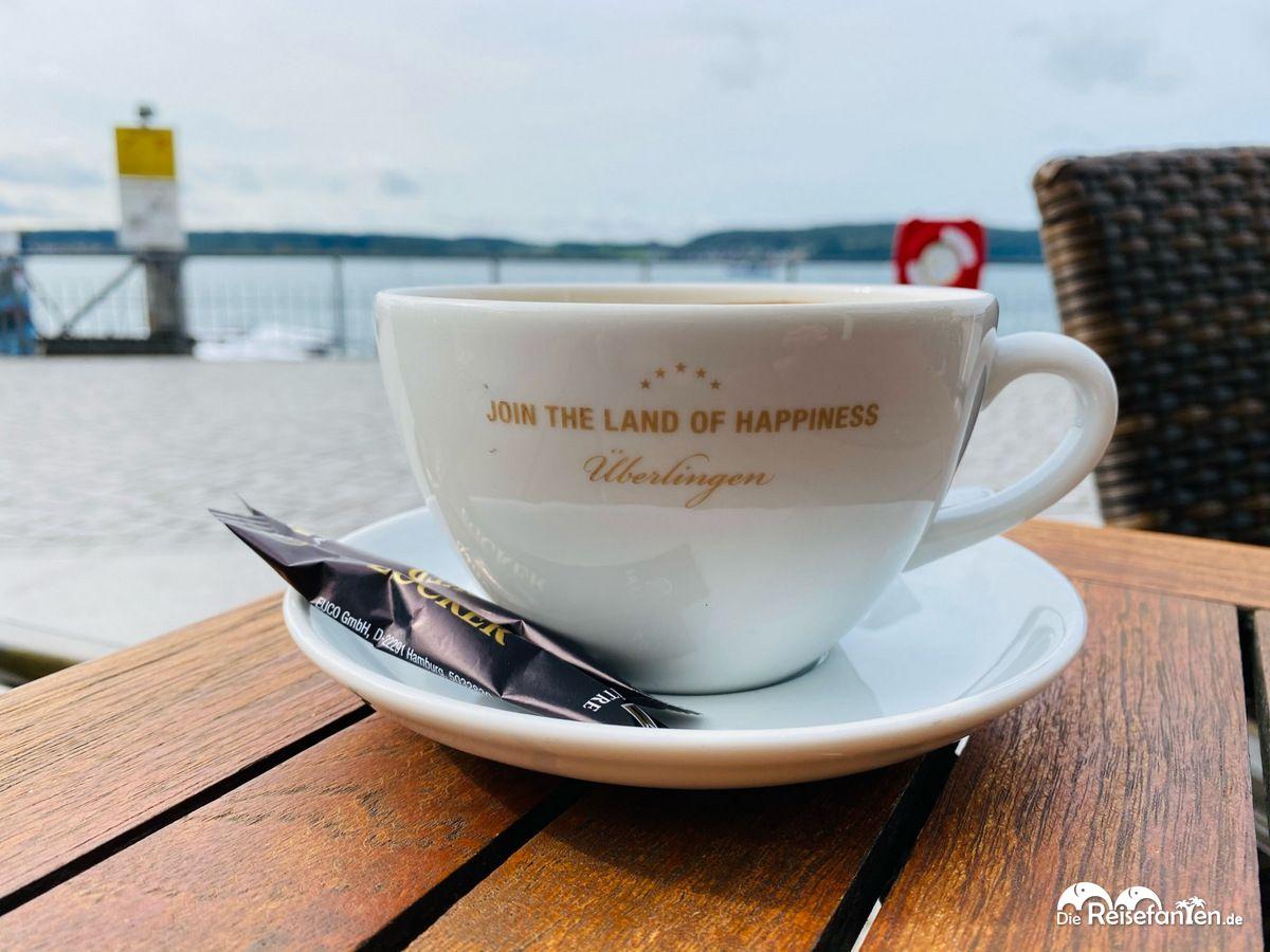 Kaffee mit Aussicht in Überlingen