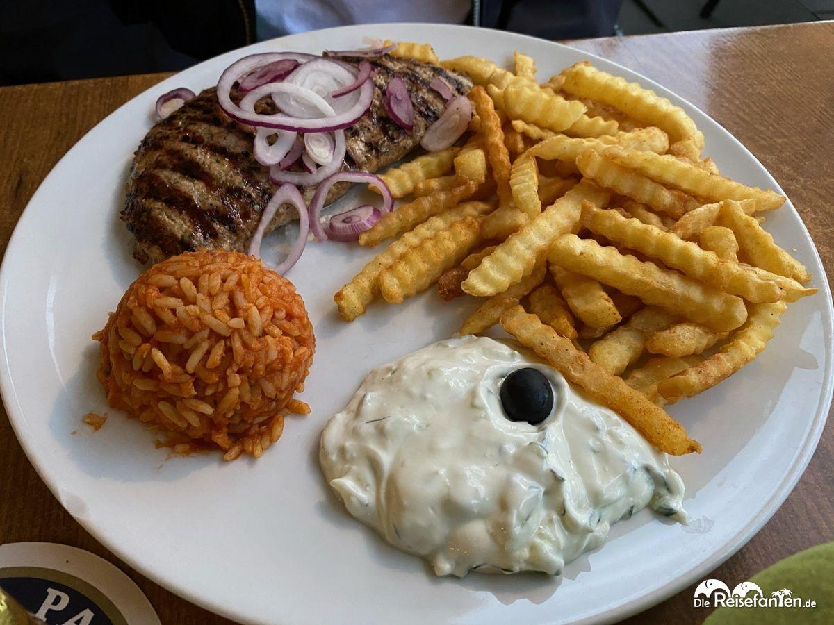 Leckeres Essen im Restaurant Mykonos in Überlingen