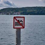 Schwimmen verboten in Überlingen