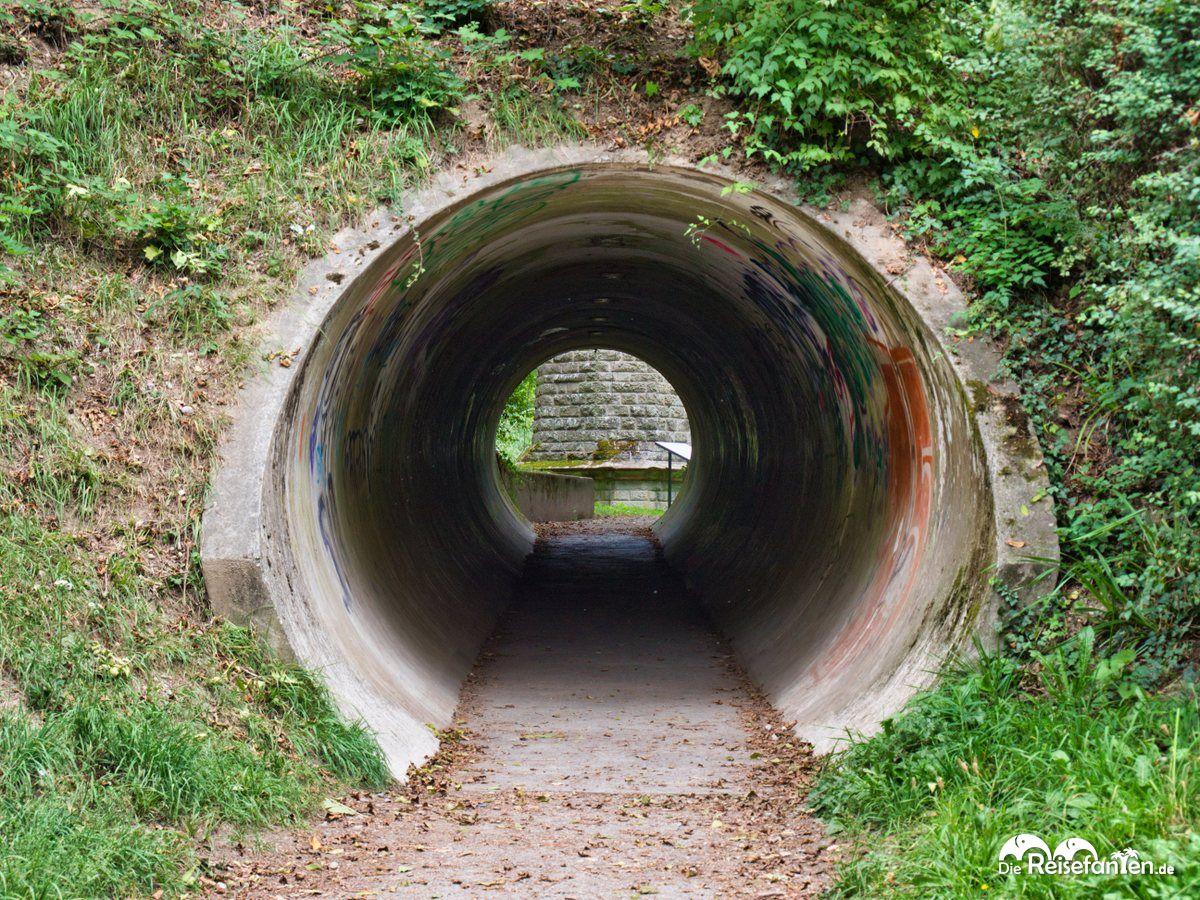 Tunnel zum Märchenturm in Überlingen