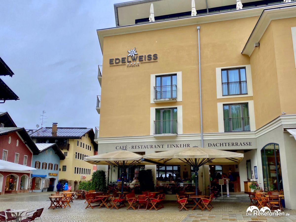 Edelweiss Hotel in Berchtesgaden
