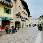 Blick in die Fussgängerzone von Berchtesgaden