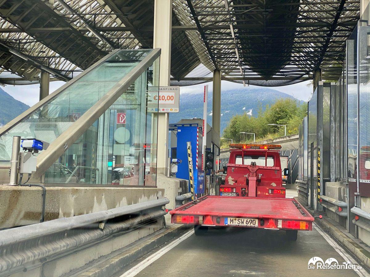 Brenner Mautstation