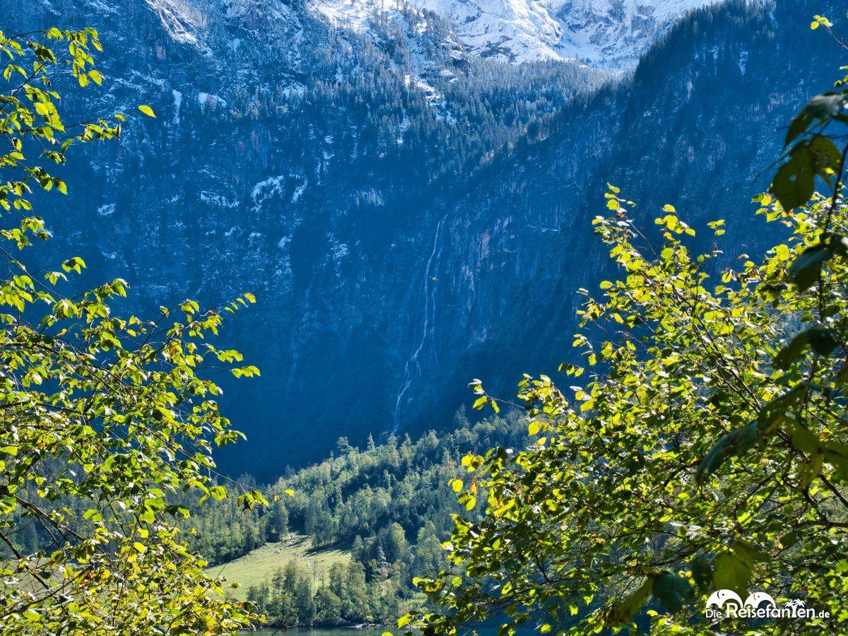 Dre Röthbachwasserfall nahe der Fischunkelalm am Obersee