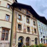 Eine weitere Fassadenmalerei in Berchtesgaden