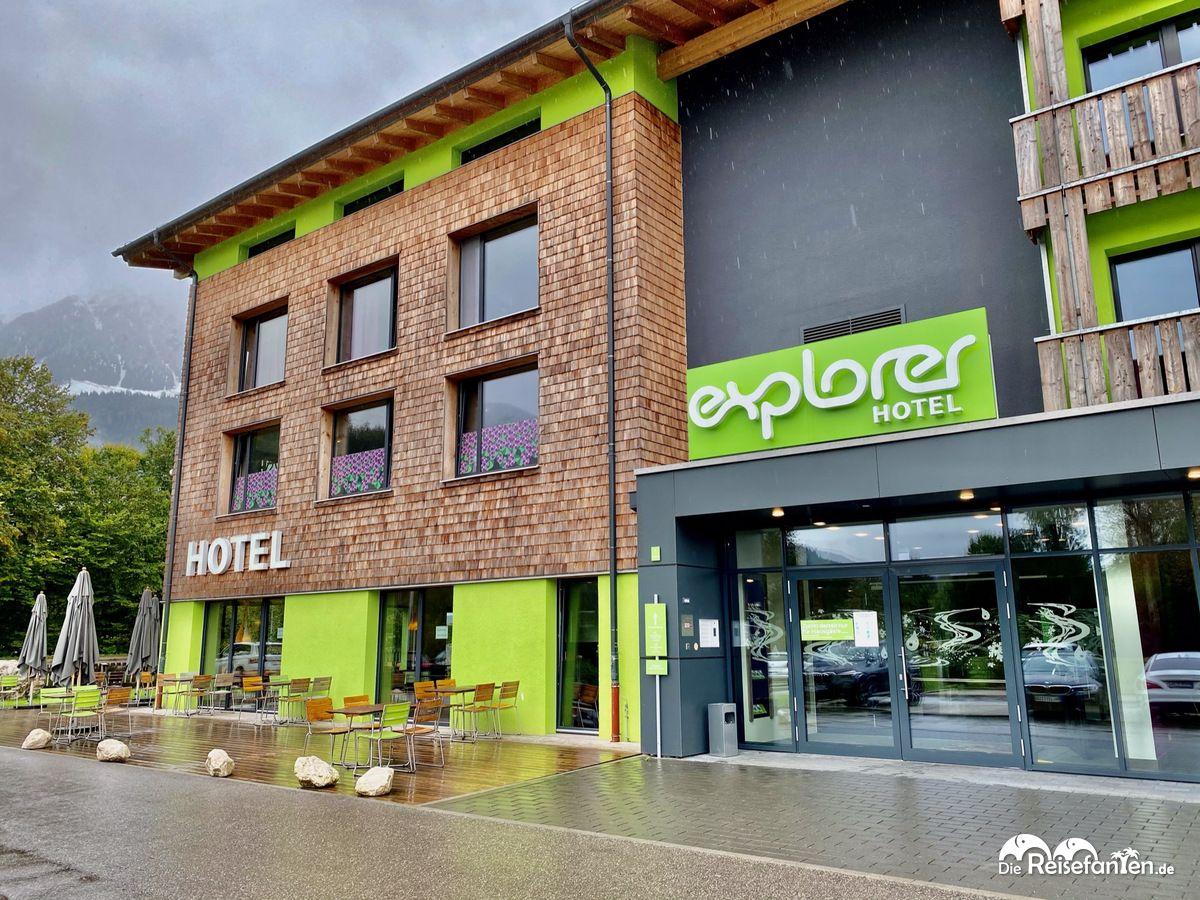 Eingangsbereich vom Explorer Hotel Bertesgaden am Königssee
