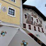Fassadenmalerei in Berchtesgaden