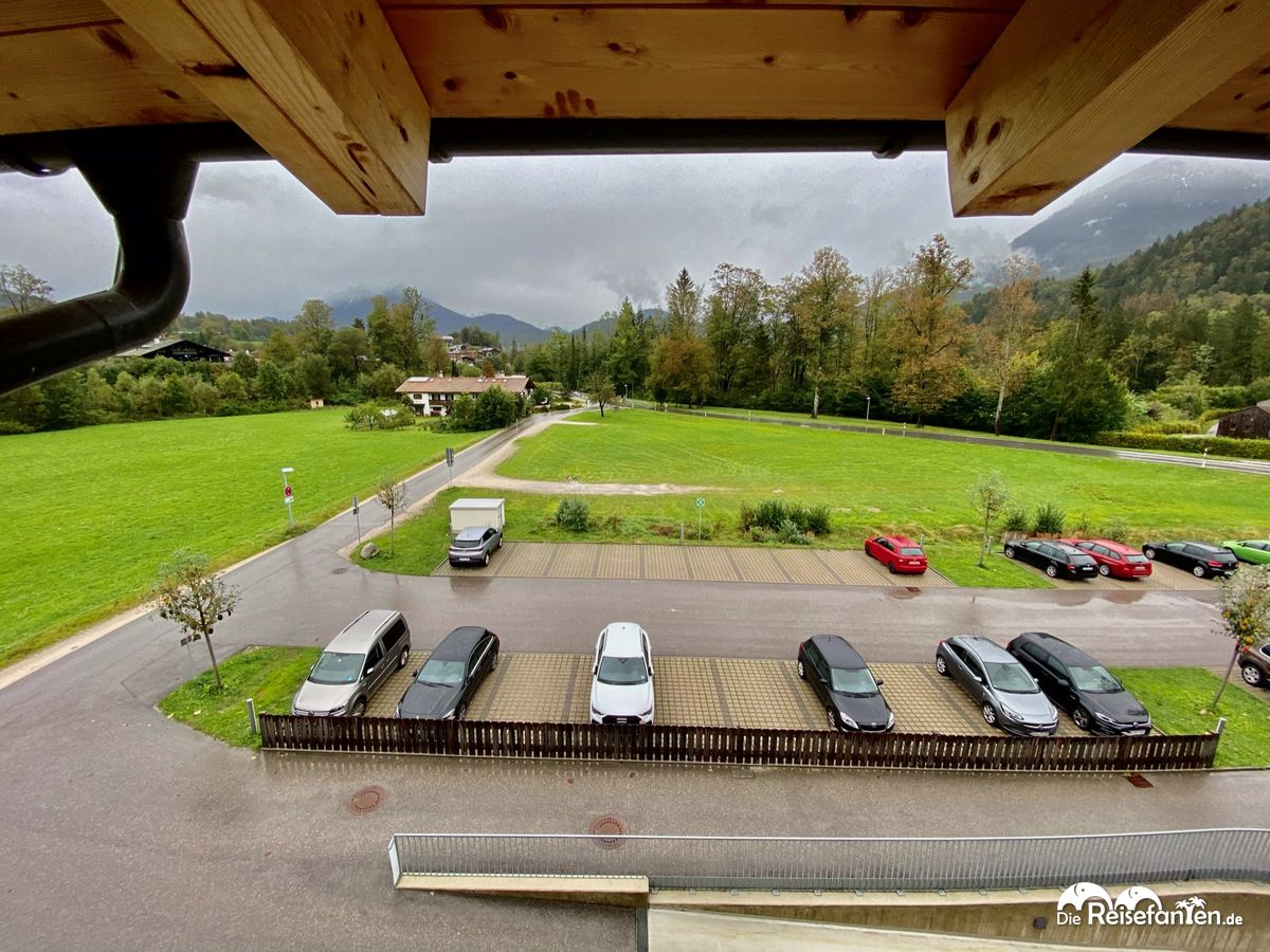 Parkplatz vom Explorer Hotel Bertesgaden am Königssee