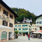 Schöne Häuserfassaden in Berchtesgaden
