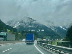 Unterwegs zum Brenner