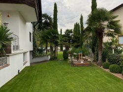 Außenbereich der Residence Reinhild in Nals in Südtirol