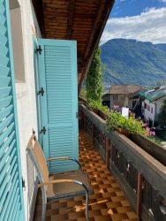 Balkon in der Residence Reinhild in Nals in Südtirol