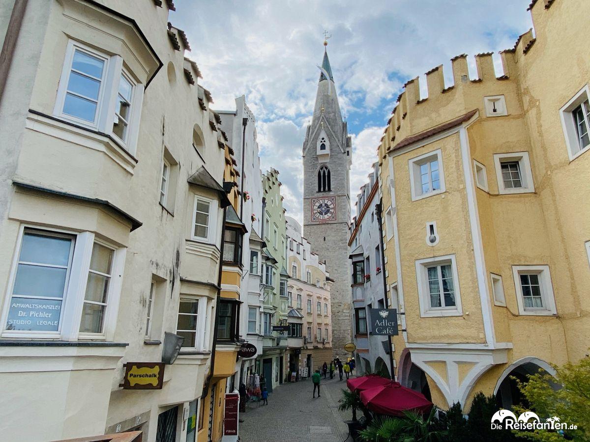 Blick auf die Innenstadt von Brixen