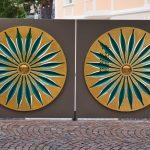 Ein Tor in Brixen