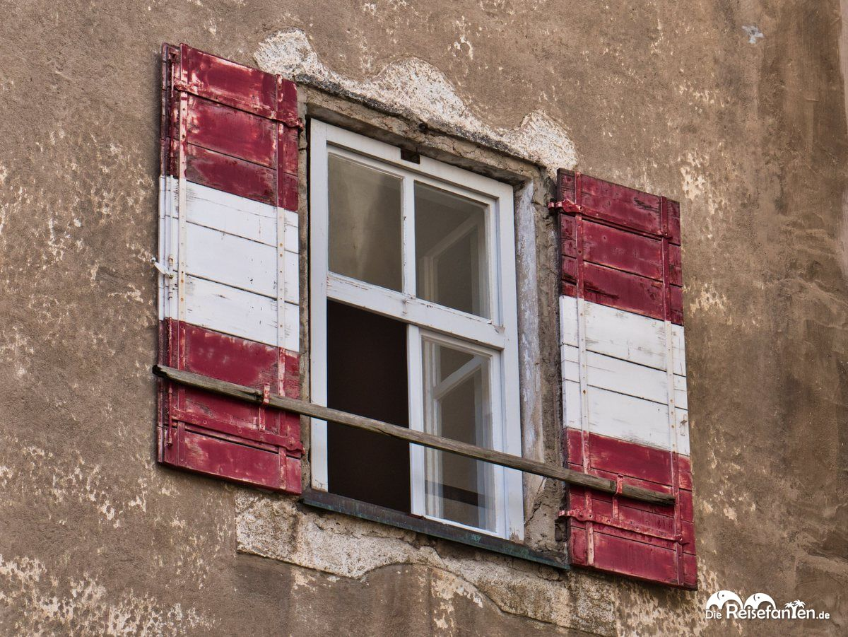 Fensterladen in Brixen