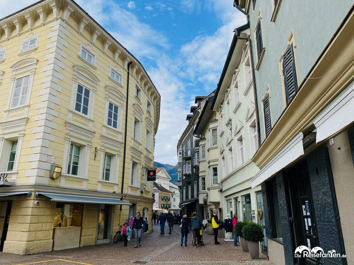 Fußgängerzone von Brixen
