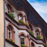 Häuserszene in Brixen