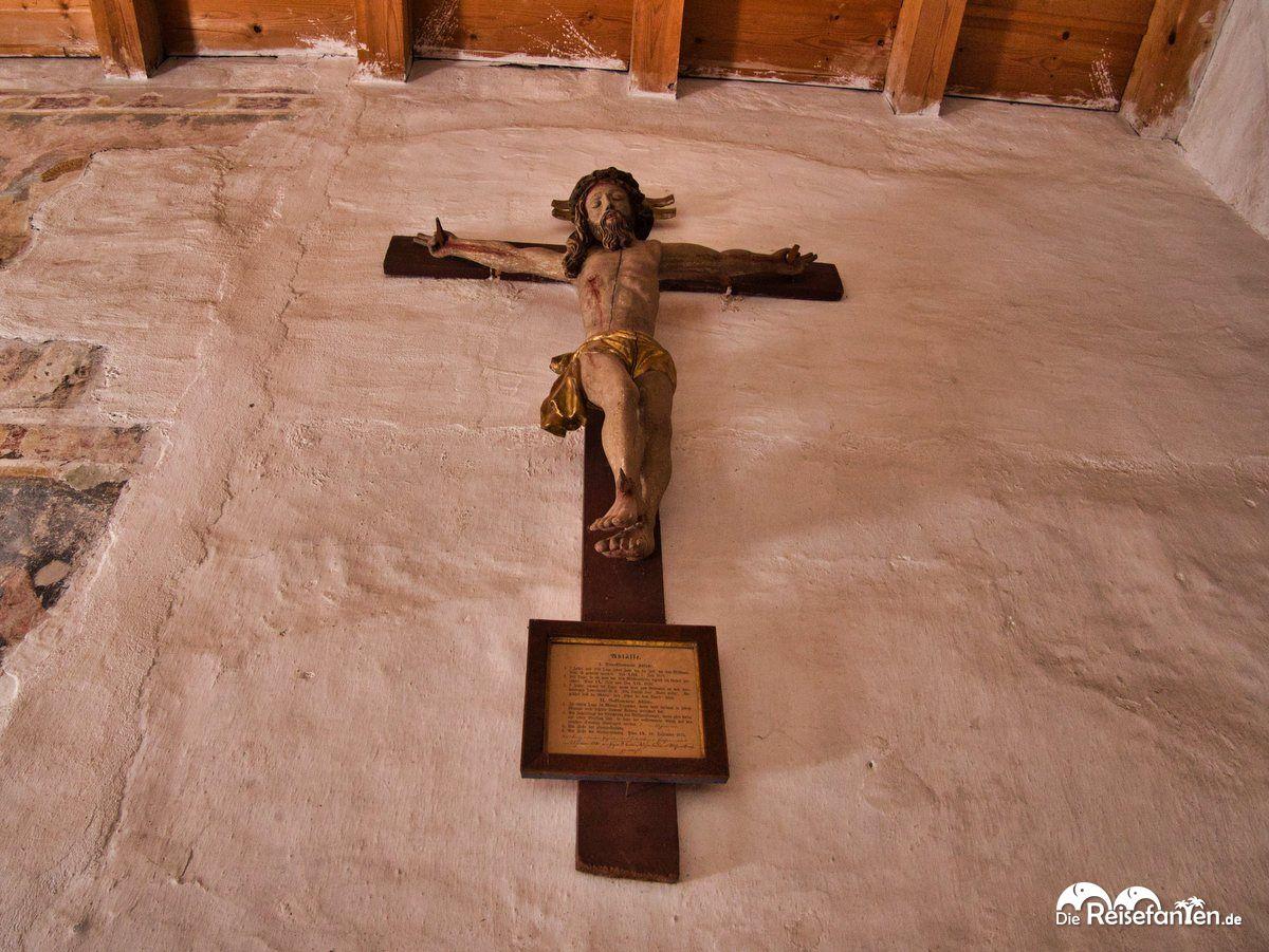 Jesus am Kreuz in St Jakob In Grissiano