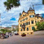 Stadtbild aus Brixen