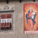Wandmalerei in Brixen
