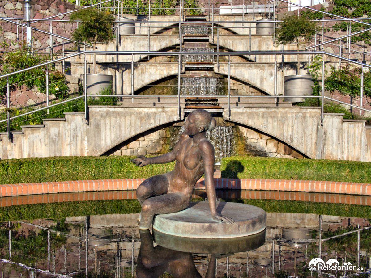 Brunnen in den Gärten von Schloss Trauttmansdorf
