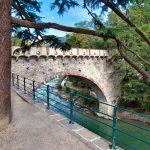 Impressionen aus Meran Brücke